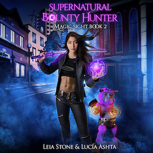 Magic Sight audiobook by Leia Stone